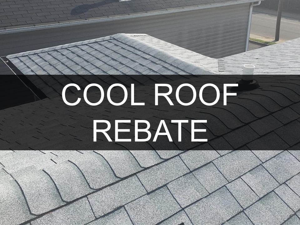 Cool Roof Rebate Icon