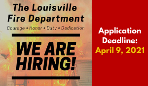LFD Now Hiring - March 2021