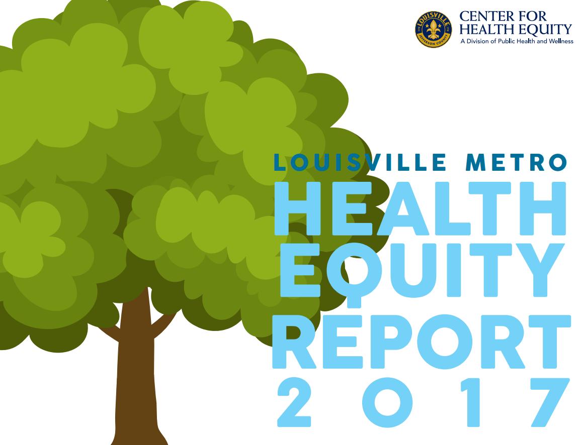 Health Equity Report Louisvilleky Gov