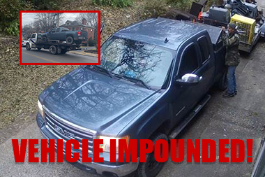 Illegal Dumping Impound